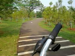 Jalur sepeda ecopark